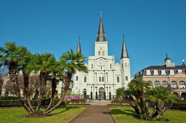 Cabildo Wall Art - Photograph - Usa, Louisiana, New Orleans, French by Bernard Friel