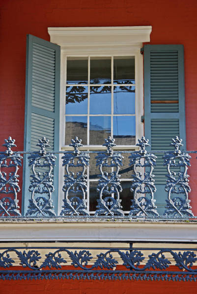 Red Brick Photograph - Usa, Louisiana, New Orleans, French by Jaynes Gallery