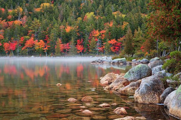 Acadia National Park Photograph - Usa, Maine, Acadia National Park, Fall by Joanne Wells