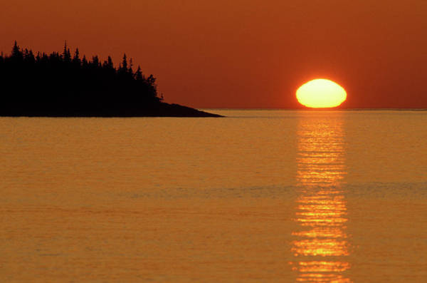 Calmness Photograph - Usa, Michigan, Isle Royale National by Jaynes Gallery