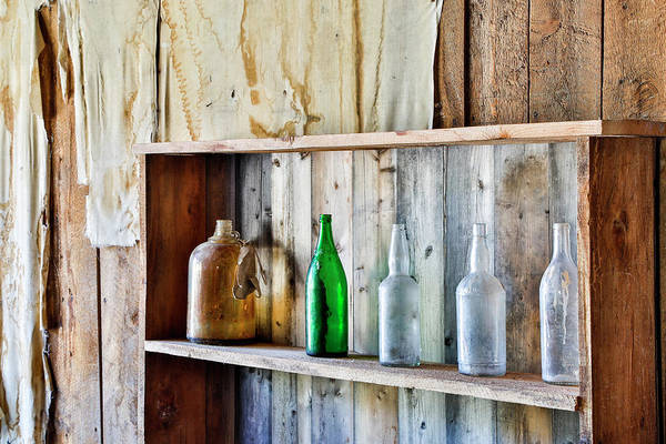 Bannack Wall Art - Photograph - Usa, Montana, Bannack State Park, Old by Hollice Looney