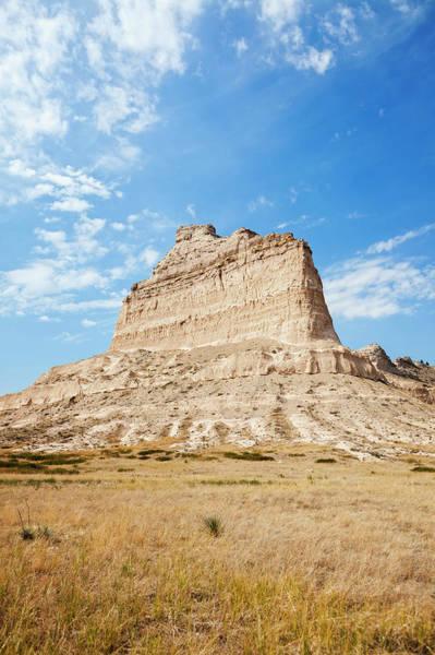 Nebraska Landscape Photograph - Usa, Nebraska, Scotts Bluff National by Bryan Mullennix