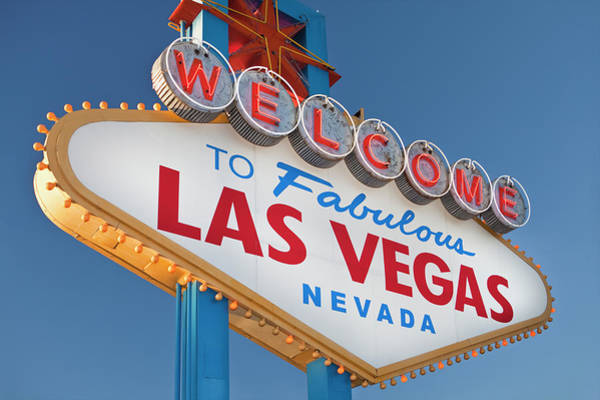 Fabulous Photograph - Usa, Nevada, Boulder City, Welcome Sign by Bryan Mullennix