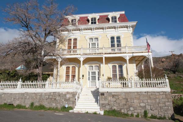 Virginia City Photograph - Usa, Nevada Savage Mansion (c 1861 by Michael Defreitas