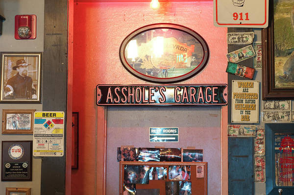 Virginia City Photograph - Usa, Nevada Silver Dollar Saloon by Michael Defreitas