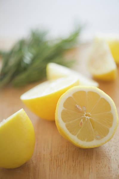 Lemon Photograph - Usa, New Jersey, Jersey City, Lemon On by Jamie Grill