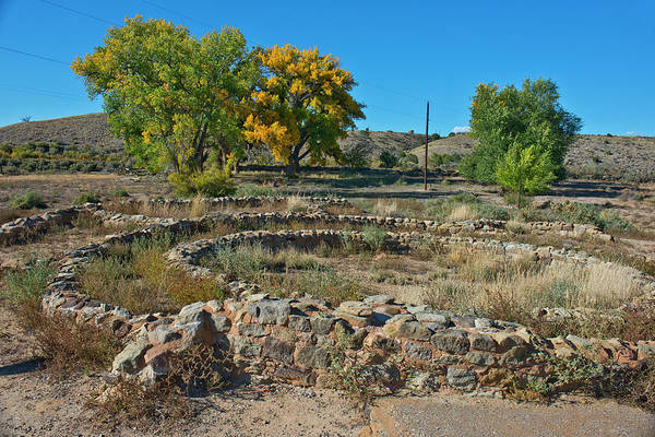 Aztec Photograph - Usa, New Mexico, Aztec Ruins National by Bernard Friel