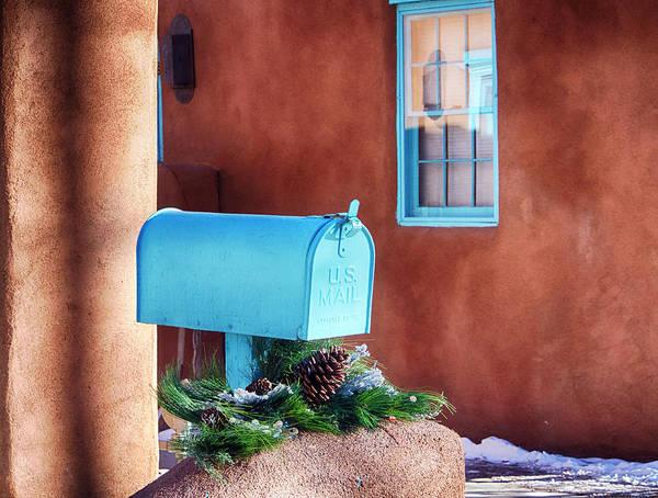 Box Canyon Wall Art - Photograph - Usa, New Mexico, Sant Fe, Santa Fe, New by Terry Eggers