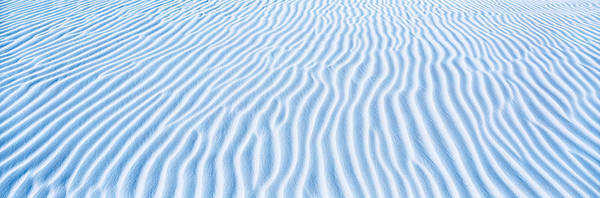 Nm Wall Art - Photograph - Usa, New Mexico, White Sands, Dunes by Panoramic Images