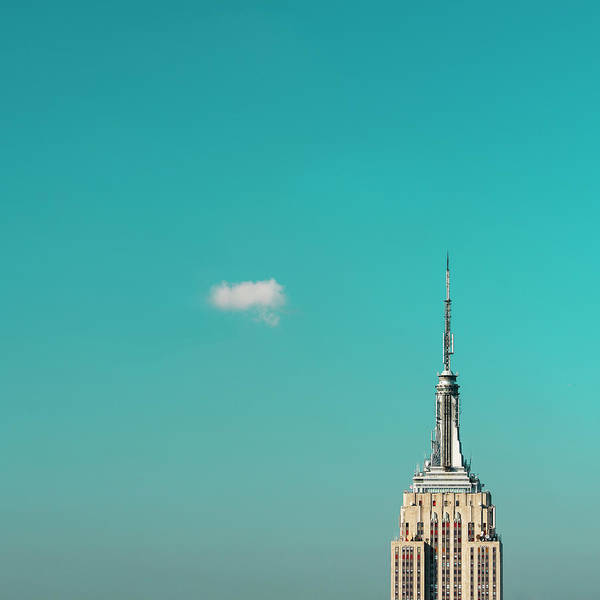 Copy Photograph - Usa, New York City, Empire State by Tetra Images
