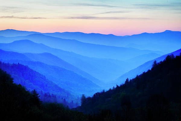 Southern Usa Photograph - Usa, North Carolina, Predawn Color Seen by Danita Delimont