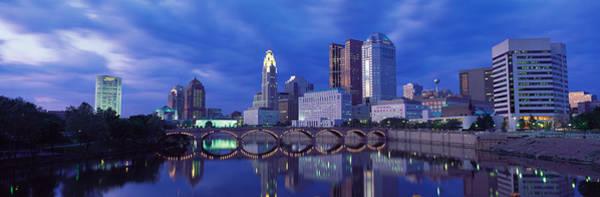 Scioto Photograph - Usa, Ohio, Columbus, Scioto River by Panoramic Images