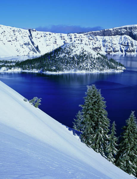 Hemlock Photograph - Usa, Oregon, Crater Lake National Park by Jaynes Gallery