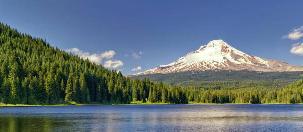 Mt Hood Photograph - Usa, Oregon, Hood River County by Christopher Reed