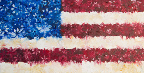 Painting - Usa Proud by Melinda Cummings