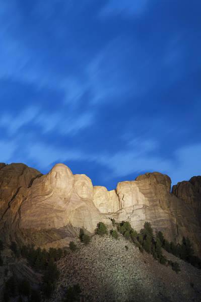 Rushmore Photograph - Usa, South Dakota, Black Hills, Mount by Bryan Mullennix