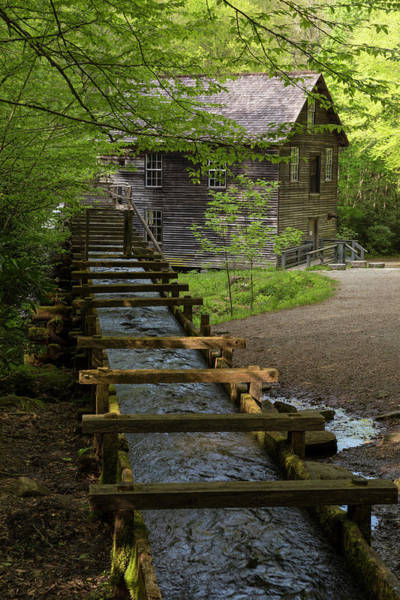 Mingus Mill Photograph - Usa, Tennessee, Great Smoky Mountains by Jaynes Gallery