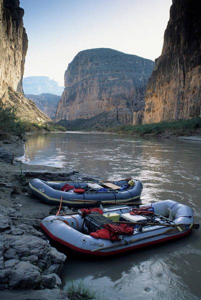 Rio Grande River Photograph - Usa, Texas, Rafting Boquillas Canyon by Gerry Reynolds