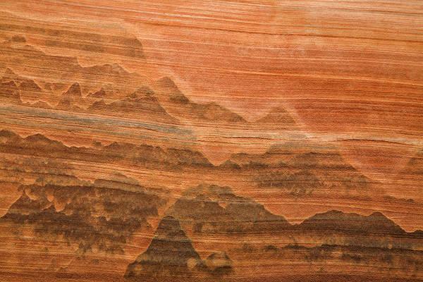 Desert Varnish Photograph - Usa, Utah Desert Varnish Stain by Jaynes Gallery