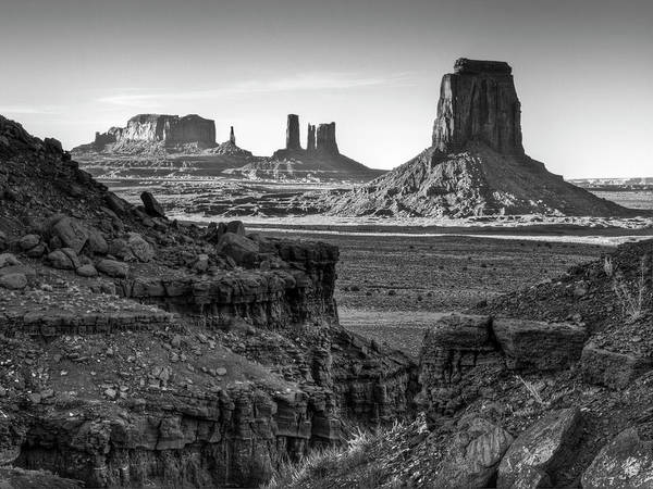 Collins Photograph - Usa, Utah, Monument Valley Navajo by Ann Collins