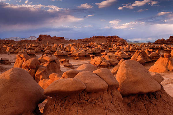 Goblin Photograph - Usa; Utah View Of Goblin Valley State by Jaynes Gallery