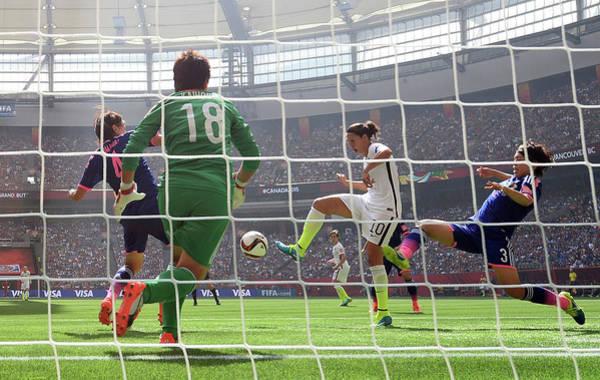 2 Photograph - Usa V Japan Final - Fifa Womens World by Dennis Grombkowski