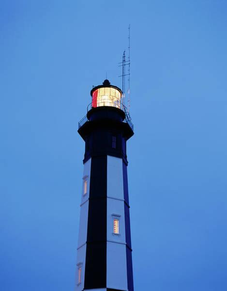 Virginia Lighthouse Photograph - Usa, Virginia, Virginia Beach, View by Walter Bibikow