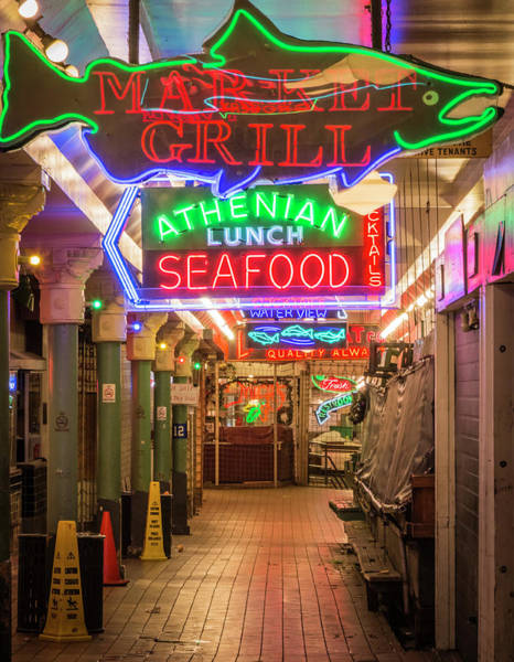 Pikes Place Photograph - Usa, Washington, Seattle, Pike Place by Emily Wilson