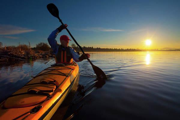 Freshwater Photograph - Usa, Washington State, Seattle by Gary Luhm