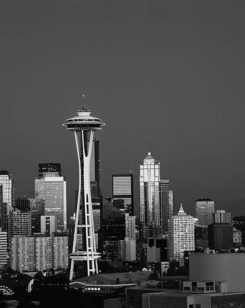 Usa, Washington State, Seattle, Space Art Print by Adam Jones