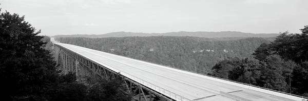 Wall Art - Photograph - Usa, West Virginia, Route 19, High by Panoramic Images