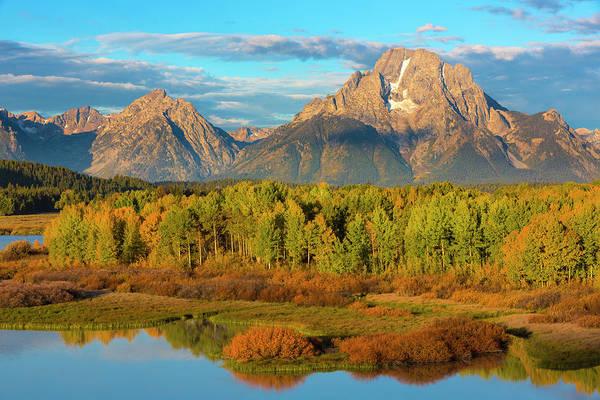 Mount Moran Photograph - Usa, Wyoming, Grand Teton National Park by Jaynes Gallery