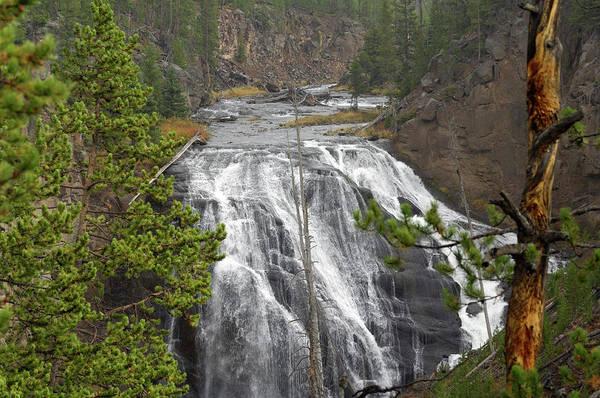 Firehole River Wall Art - Photograph - Usa, Wyoming, Waterfall, Yellowstone by Gerry Reynolds