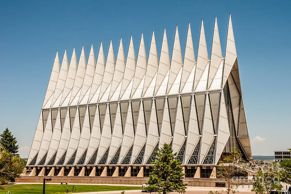 Photograph - Air Force Academy Chapel by Sue Smith
