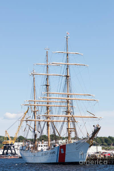 Photograph - Uscg Barque Eagle I by Clarence Holmes