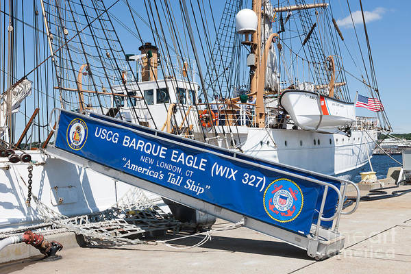Photograph - Uscg Barque Eagle II by Clarence Holmes