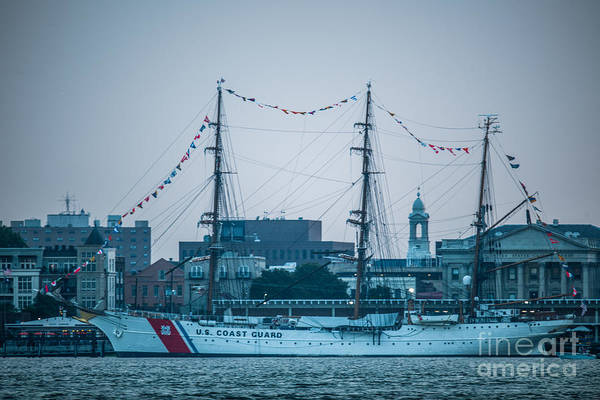 Photograph - Uscgc Eagle by Dale Powell