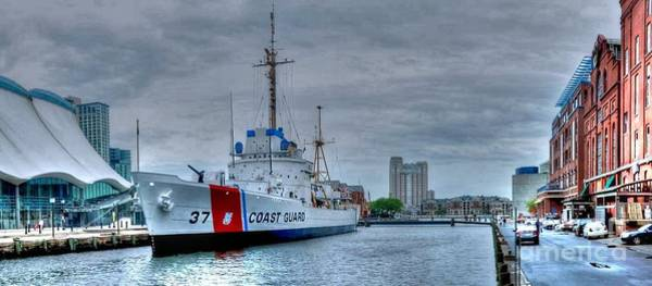 Inner Photograph - Uscgc Taney by Mike Baltzgar