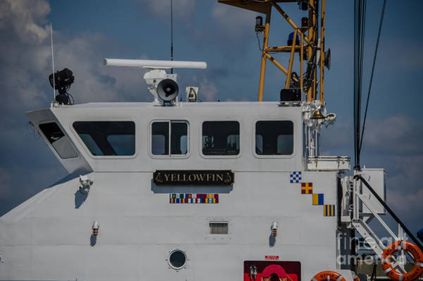 Photograph - Uscgc Yellowfin by Dale Powell