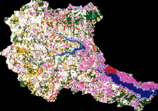 Imagery Photograph - Use Of Landsat Satellite Data To Map Land by Nasa/science Photo Library