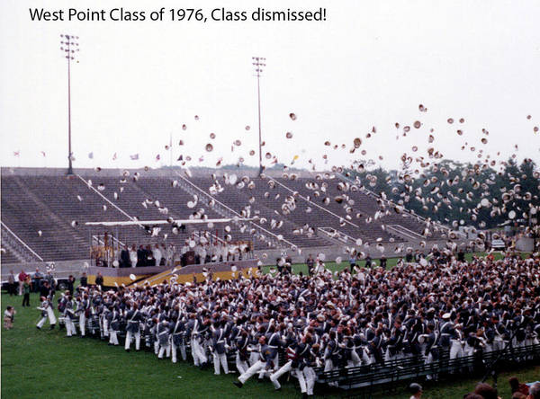Photograph - Usma Class Of 1976 by Dan McManus