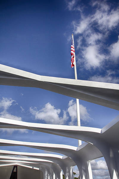 Uss Arizona Wall Art - Photograph - Uss Arizona Memorial by Douglas Barnard