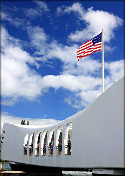 Uss Arizona Wall Art - Photograph - Uss Arizona Memorial by Stephen Stookey