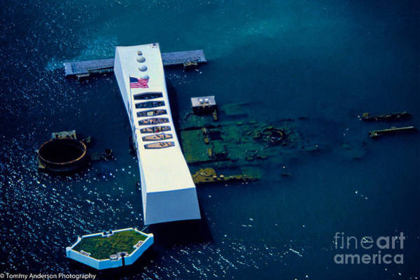 Wall Art - Photograph - Uss Arizona by Tommy Anderson