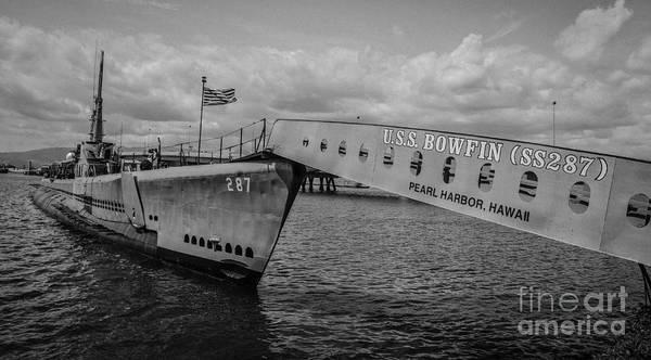Uss Bowfin Photograph - Uss Bowfin II by Jason Rosenberg