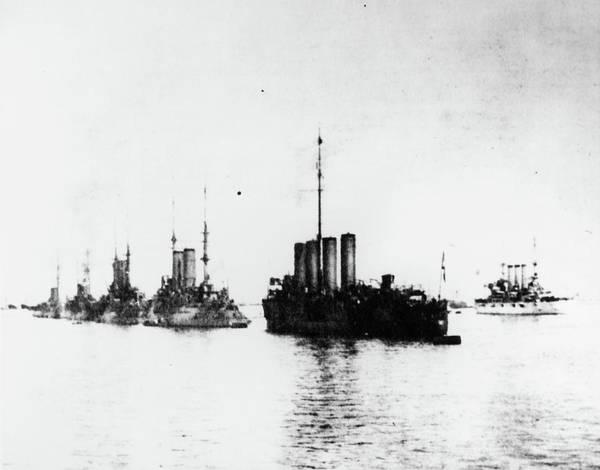 Photograph - Uss Connecticut, 1909 by Granger