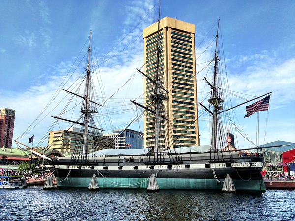 Photograph - Uss Constellation by Chris Montcalmo