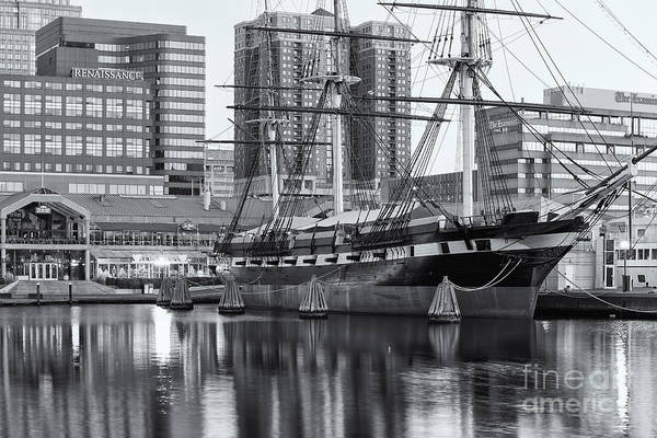 Photograph - Uss Constellation II by Clarence Holmes