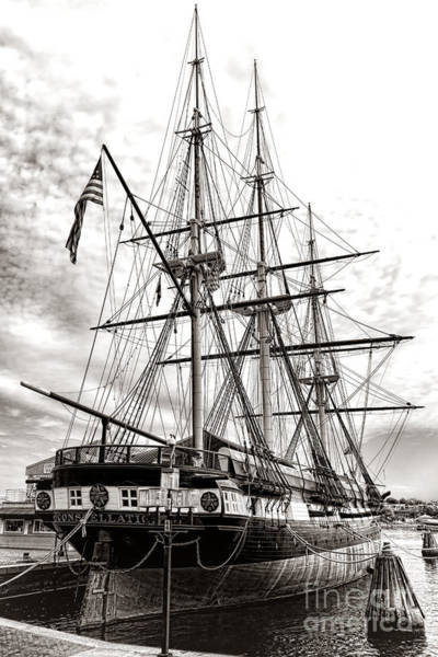 Baltimore Photograph - Uss Constellation by Olivier Le Queinec
