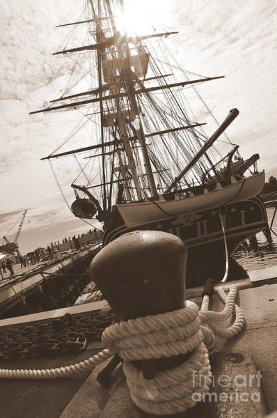 Oceanfront Photograph - Uss Constitution by Catherine Reusch Daley